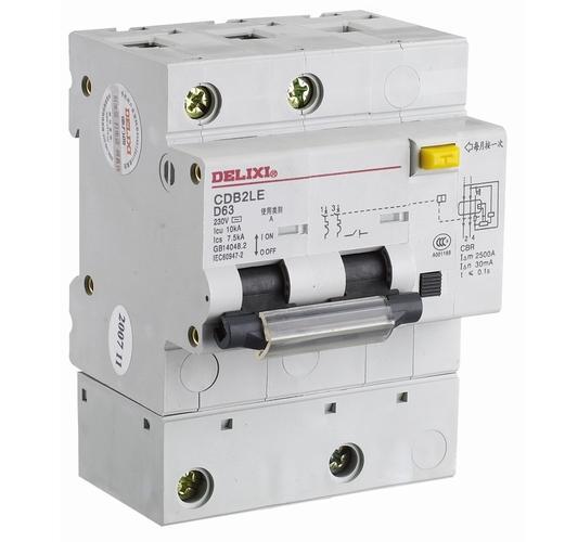 CDB2LE 大电流漏电保护断路器