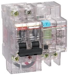 DZ47LET 透明漏电保护断路器