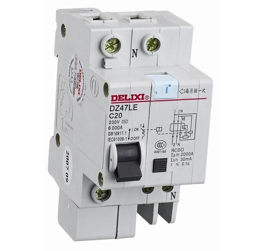 DZ47LE 标准漏电保护断路器