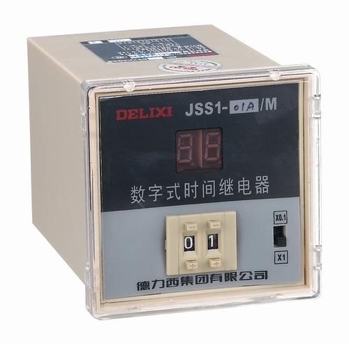 JSS1 系列数显式时间继电器